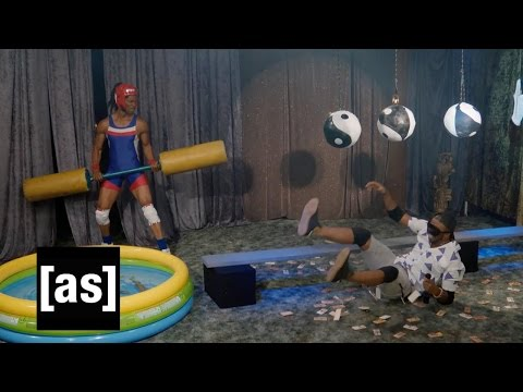 Rapper Warrior Ninja | The Eric Andre Show | Adult Swim