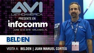 Visita a Belden durante  InfoComm Orlando 2019