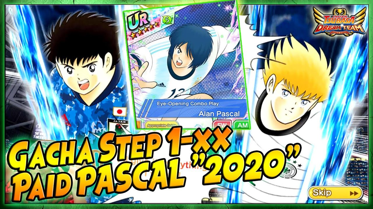 "GACHA STEP 1-xx New PASCAL ""2020 National Team"" 🔥 RAJA BEGAL!! - Captain Tsubasa Dream Team"