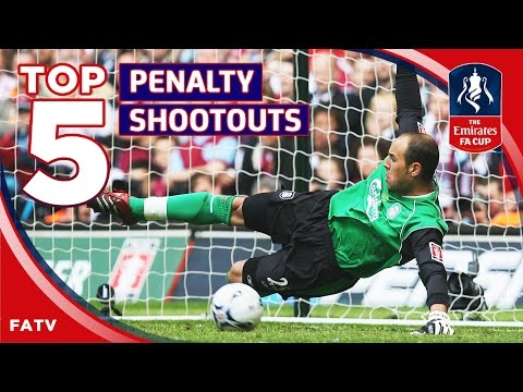 5 Best FA Cup Penalty Shootouts - Liverpool/Arsenal/Man Utd | Top Five