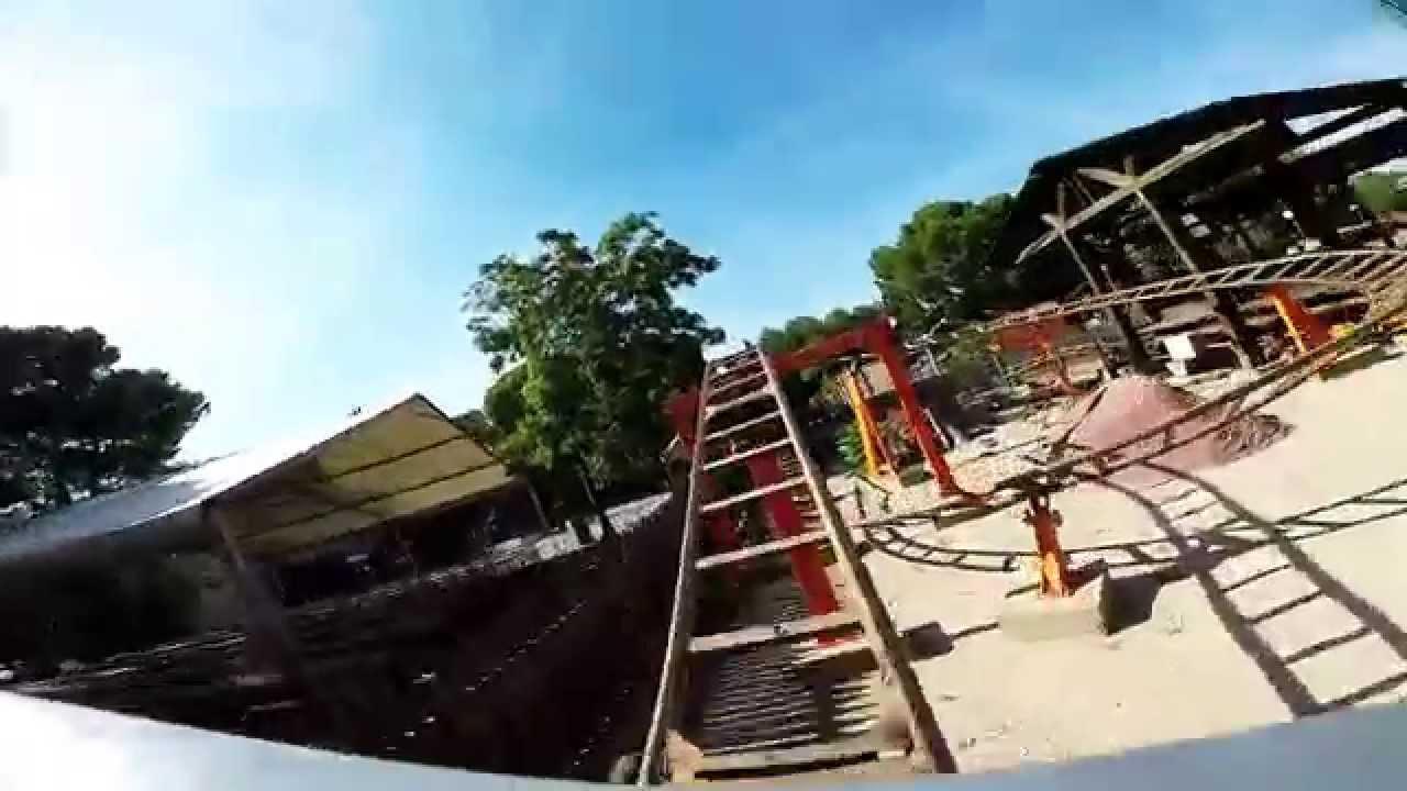 La mina parque de atracciones de zaragoza onride primera fila youtube - Parque atracciones zaragoza ...