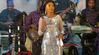 Music act and television presenter, Madiva put in superlative performance here