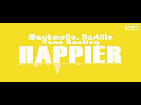Marshmello, Bastille - Happier (VONE Bootleg)