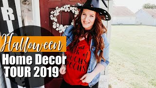 HALLOWEEN HOME DECOR TOUR 2019 🎃 | FARMHOUSE HALLOWEEN DECOR |