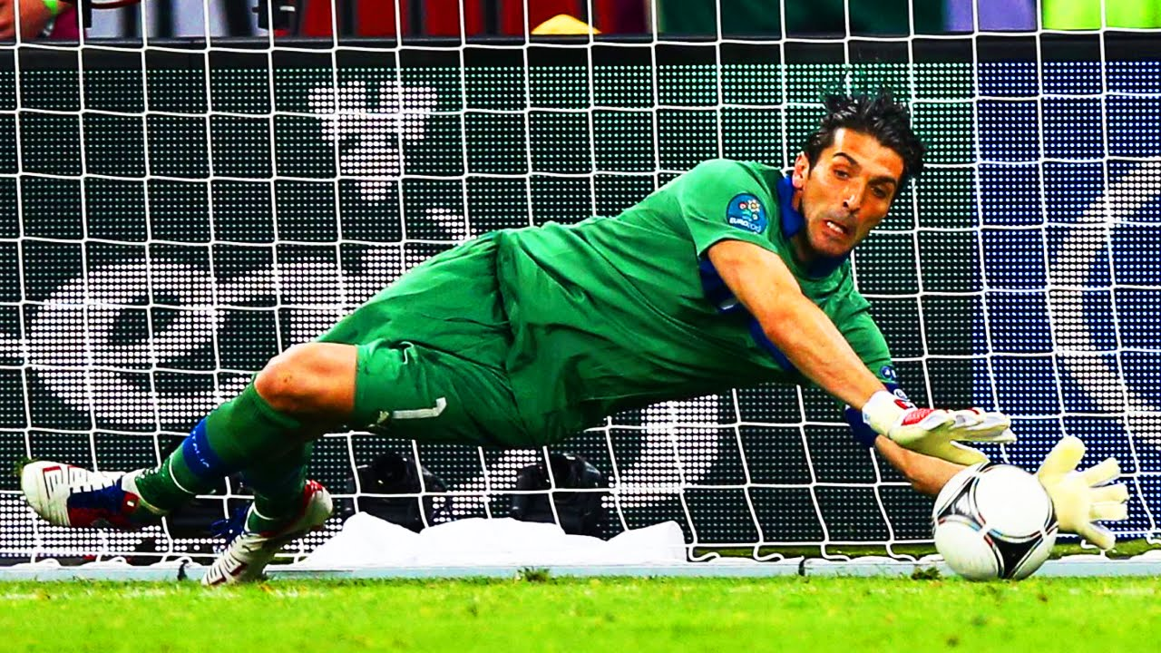 Gianluigi Buffon | Best Saves Compilation | HD 720p - YouTube