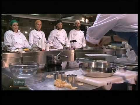 La Scuola - Cucina di classe 1 - Ravioli di sgombro - Chef ...