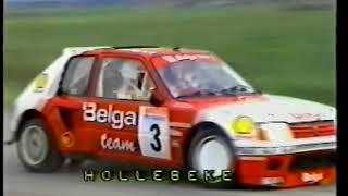 24h Ypres rally 1985 24u Ieper