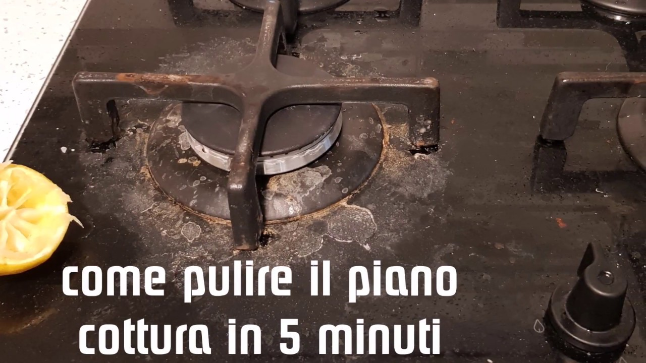 Come Pulire Il Piano Cottura come pulire il piano cottura in 5 minuti - casa organizzata