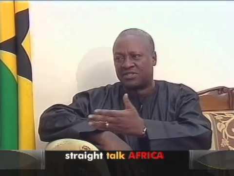 Shaka Ssali sits down with Ghanaian President John Dramani Mahama in Castle Osu