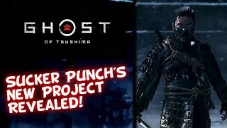 Sucker Punch's New Game Revealed! Ghost Of Tsushima - The End Of The Sly 5 Dev Debate
