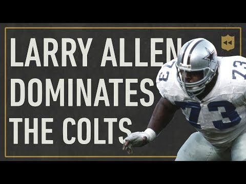 The Most Dominant Offensive Lineman Performance In NFL History! | Vault Stories
