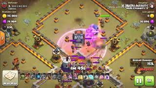 Clash Of Clans - Clan War with Air Troops Indo Eternity VF
