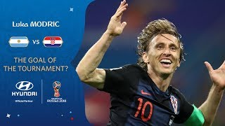 Luka MODRIC - HYUNDAI GOAL OF THE TOURNAMENT - NOMINEE