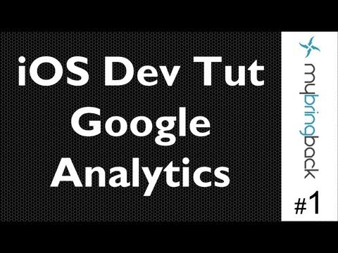 Integrate Google Analytics iOS SDK Natively Part 1
