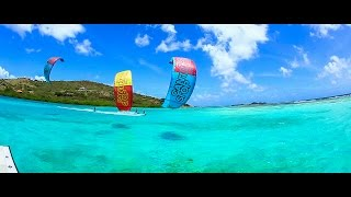 Kitesurfing Union Island - Feat. Jeremie Tronet, Craig Cunningham and Colleen Carroll