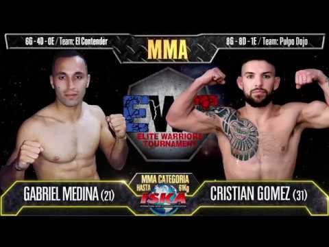 Cristian Gomez Vs Gabriel Medina - MMA 61Kg - EWT