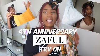 4th Anniversary Zaful Try On Haul