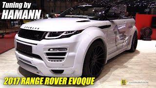 2017 Range Rover Evoque Convertible Hamann - Exterior Interior Walkaround - 2017 Geneva Motor Show