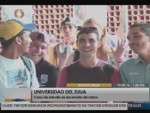 Estudiantes denuncian robos en la Universidad del Zulia