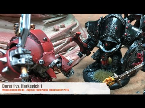 A Whole New War - Warmachine Mk III Battle Reports - Ep 09 - NEW MENOTH