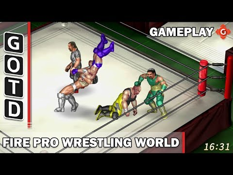 Fire Pro Wrestling World (PS4) | Gameplay of the Day