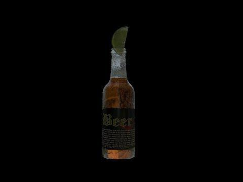 Blender Tutorial: Beer Bottle with Lime