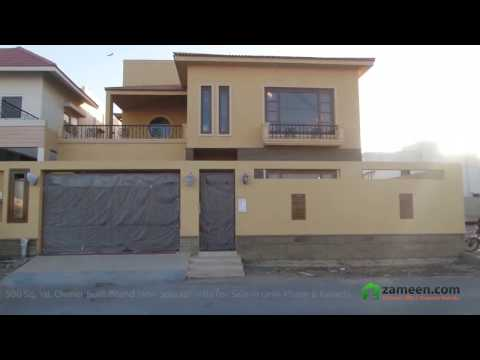 OWNER BUILT BRAND NEW TWO UNITS SPANISH VILLA FOR SALE IN DHA PHASE 8 KARACHI