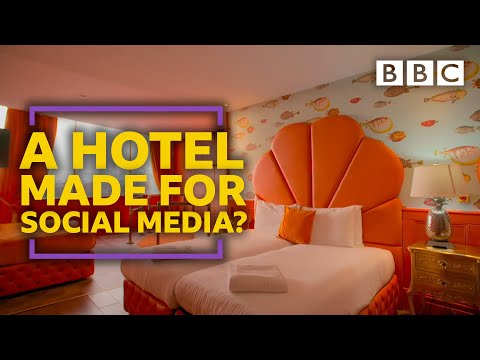 Is this the most instagrammable hotel in the world? - BBC