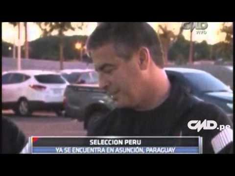 Central Deportiva: La selección peruana de fútbol ya está en (Asunción)