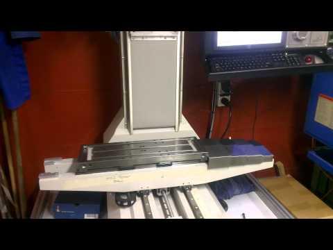 Eerst test run epoxy graniet freesbank