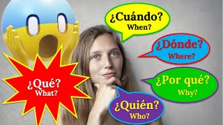 8 Learn how to ask questions in Spanish- Learn Spanish Fast - Spanish Summer Camp 2020