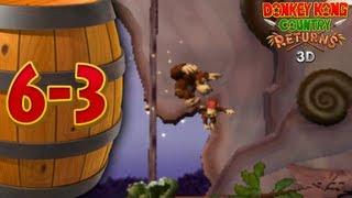 Donkey Kong Returns 3D - Co-op - 6-3 Weighty Way