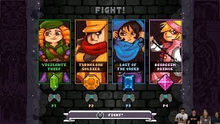 TowerFall Ascension Highlights - Multiple Players