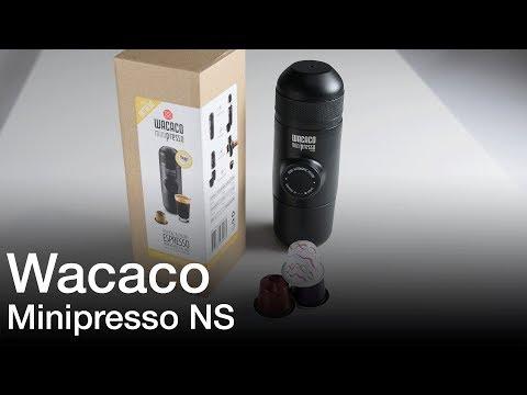 Wacaco Minipresso NS Espresso Coffee Maker Product Showcase