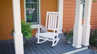 The POLYWOOD® All-Weather Heritage Rocking Chair