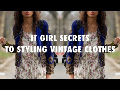HOW TO STYLE VINTAGE CLOTHES | COATS, DRESSES, DENIM!!!