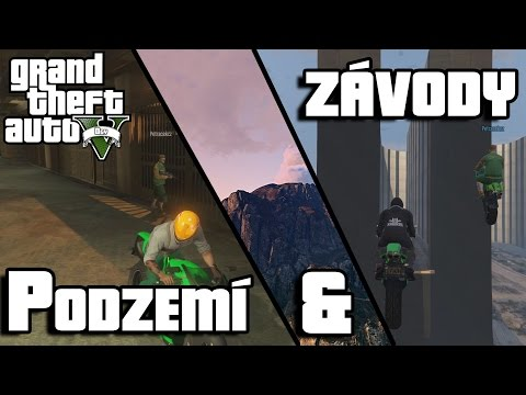 GTA V. ONLINE #2 - PODZEMÍ A ZÁVODY! w/ Player Petráček