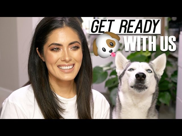 GET READY WITH US! // Rose Gold Eye Makeup // Melissa Alatorre