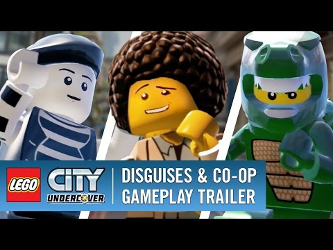Disguises & Co-Op - LEGO City Undercover - Trailer 2017