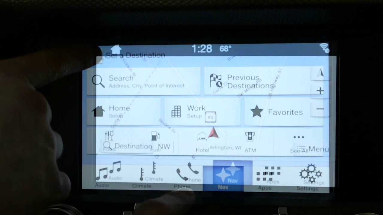 how to use ford 39 s sync 3 navigation system informational. Black Bedroom Furniture Sets. Home Design Ideas