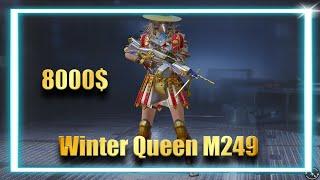 WINTER QUEEN M249 / Winter Queen Treasure / უამრავიიიიი მატერიალიიიიიიიიიი 😱😱😱