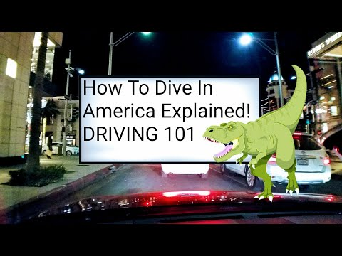 Driving 101. How to drive on American roads explained! Defensive driving course