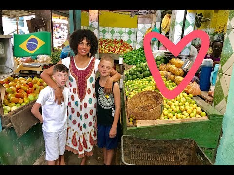 Outdoor Markets in Brazil