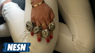 Ben Affleck's Nanny Wears Tom Brady's Super Bowl Rings