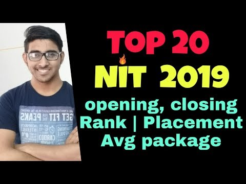 Top 10 Nit In India | Jee Mains 2019 Result Declared | Opening Closing Rank | Percentile Vs College