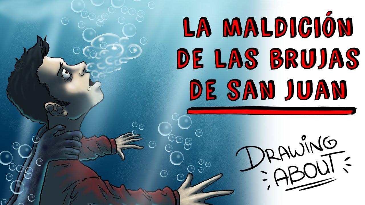 LA MALDICIÓN DE LAS BRUJAS DE SAN JUAN | Draw My Life