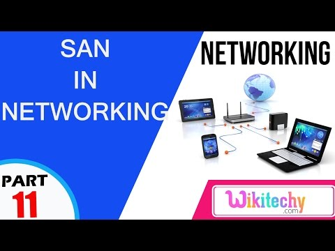 SAN | Computer Networking Interview Questions And Answer|videos|freshers|experienced