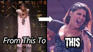 Cristina Ramos Turned On Her Beast Mode In The Middle Of The Act   America's Got Talent  Champions