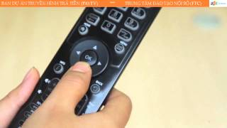 Hướng dẫn sử dụng Truyền hình FPT