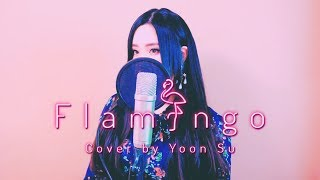Cover images 米津玄師 (Kenshi Yonezu) - Flamingo (フラミンゴ) +5Key up┃Cover by yoonsu